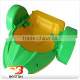 Funny handle paddler boats,kids play plastic water paddle boat for kid                                                                                                         Supplier's Choice