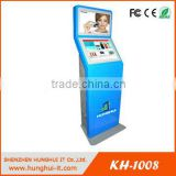 Internet/ Information, Cashless Self Service Payment, Cedit Card Payment Dual Screen Kiosk