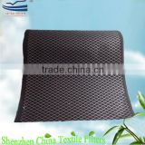 Odor absorbing activated carbon media with wire mesh