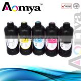 Aomya uv ink for glass printing machine , uv curing ink for ceramic tile printer with high quality