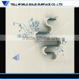 Elegant design100 %Acrylic solid surface artistic wall decoration