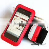 Wallytech New Elastic Rubber Sports Running Armband Cover Case For iPhone 4S 4 4G 3G 3GS