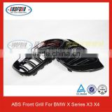 M Look Glossy Black Front Grill For BMW F26 X4 F25 X3 SUV 35i 28i 20i (Fits For BMW X3 X4)
