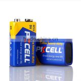 best price 6F22 9V Battery Heavy Duty dry cell Made in China