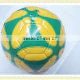 Professional and good design PU surface hand sewing football