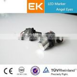 EK Favorite Compare Angel Eyes Heads Headlights Black Angel Eye Projector Headlights HID Bi xenon Dual Angel Eyes Projector Lens