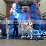 blue inflatable bouncer silde for sale