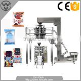 Automatic cotton candy chocolate weight packing machine system