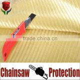 Promoting discount fire retardant cut resistangt para aramid chainsaw chaps fabric for protective work gear