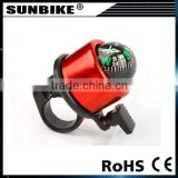 logo bike bell with compass
