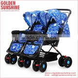 Comfortable Good Double Baby Pushchair with Top Quality