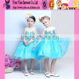 2015 original selling high quality Princess dress double lace short baby girl princess sofia dress wholesale