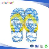 2016 hot sale summer beach custom flip flops slipper sandal fashion girl lt blue rubber flip flop wholesale