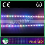 Magic digital led strip ,waterproof by silicon coating