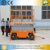Vertical hydraulic fixed scissor lift 3m height with no pit used for indoor outdoor