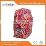 Best seller cotton beautiful quilted hipster side by sublimation backpack