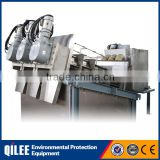 Oil field sewage dewatering machine SUS304 volute dewatering press