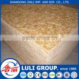 Furniture Usage WBP glue poplar OSB3 board of LULI GROUP.(since 1985, your reliable supply with Germany DIEFFENBACHER Line)