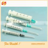 2cc/3cc Disposable Luer Lock Syringes and Needles (OEM/ODM available)