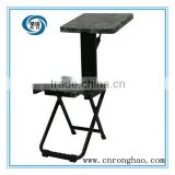 Hot sale Folding chair /military training chair with writing table