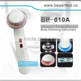 BP-010A galvanic photon ultrasonic ion body slimming machine for fat burning gel