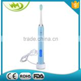 Soft Brush Botton Control Rechargeable Electrical Tooth Brush Holder in Teeth Whitening Supplier