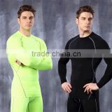 Professional Men's Quick Dry Moisture Wicking Corset Tight-fitting Sports Workout Clothes