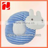 New born baby gift toy soft plush rabbit head pillow