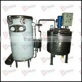 UHT Sterilizer with mixer tank and pump