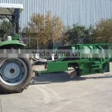 new design tractor towed hydraulic compost turner windrow turner windrow mixer with CE certification