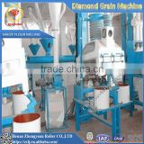 Fully automatic white maize corn grinding mill machine for sale