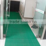 toilet PVC mat S pvc mat S mat with backing rubber mats with holes rubber hollow mat