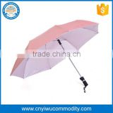 Promotional samll pocket Black mini umbrella ultra light windproof umbrella with private label