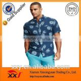 wholesale clothing fashion slim fit patterned custom shirt for men fancy design men shirt