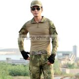 Outdoor Military Uniforms A-TACS FG Camouflage Clothing Multi color Frog Battle Suit Tactical Suit