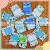 Pattened summer cotton baby boys' booties