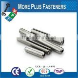 Made In Taiwan Stainless Steel Parallel Dowel Pin Spring Pin Precision Dowel Pin