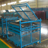 Portable Warehouse Storage Stacking Galvanized Steel Metal Pallet