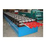 Metal Trapezoidal Roof Panel Roll Forming Machine , Wall Panel Rolling Forming Machinery