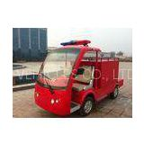 Hydraulic brake system Two Seat 3 KW Electric Utility Vehicles Fire Truck of steel frame