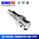 75ohm bnc plug male connector for cables, bnc adapter with low price, bnc plug to rca plug, cable rca