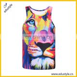 Custom Sublimation Full Printing Gym Tanktops Men'S
