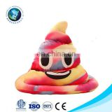 Winter Stuffed PP Cotton Emoji Pillow Hat With Light Emoji Poop LED Cap For Halloween Christmas Party Supply
