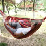 2016 Hot sale OEM outdoor good quality colorful canvas hammock