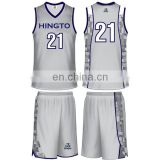 Guangzhou manufacturer OEM design basketball uniform jersey shooting shirts