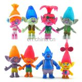 2017 New product trolls wholesale action figures dreamworks toy for children