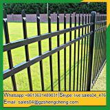 Cheap wrought iron fence panels Fence panels square tube for sale