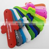 Cheap Custom Silicone Slap Band Mobile Phone Stand