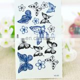 Fashion butterfly Tattoo Stickers ,body Tattoo stickers
