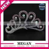 Rhinestone Bridal Headpiece Girl crown tiara